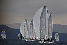 Regattas season at Marina di Scarlino, #maremma, #tuscany, #italy
