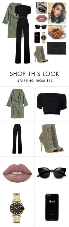 """""""Unbenannt #508"""" by aysuyucel ❤ liked on Polyvore featuring T By Alexander Wang, Misha Nonoo, Gianvito Rossi, Lime Crime, Marc by Marc Jacobs, Harrods and Rebecca Minkoff"""