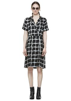 Love this Clerk Dress from Hope! I would wear white or black Converse with this dress...