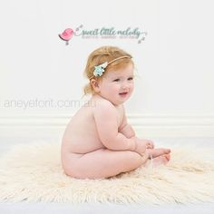 Baby Photo Prop Headband Newborn prop by SweetLittleMelody on Etsy