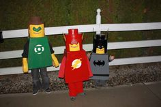 DIY Lego Man Halloween costume