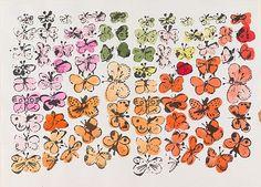 Andy Warhol's butterflies   American 1928-1987