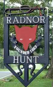 Radnor Hunt  I thank my lucky stars that I was able to hunt with them!!! :)