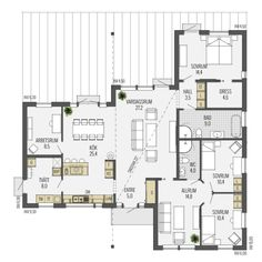 Villa, Floor Plans, House, Instagram, Sims, Home Plans, Home, Mantle, Fork
