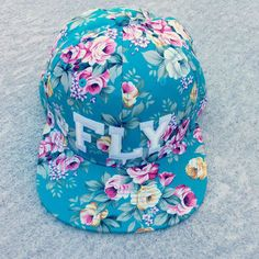 FLY Floral Snapback