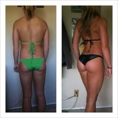 The difference between a butt that doesn't work out and one that does. You can be skinnier than you've ever been and still not look your best.