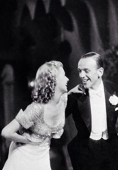 Ginger Rogers & Fred Astaire for Top Hat (1935)
