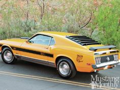 Mustang Monthly - 1970 Twister Special Mach1 Twister