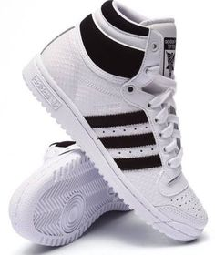adidas top ten hi white