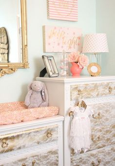 2016 Nursery Trend: Granny Chic. Break out those hand knitted afghans, folks, their moment has arrived again! Antiques and vintage lace, quilts and quaint knick-knacks wanted. #nursery #kids
