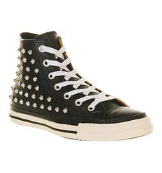 d0602bf5fce8 Converse All Star Hi Lthr Studded Leather Animal Suede - Unisex Sports