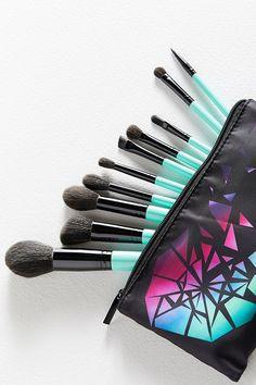 Slide View: 3: bh cosmetics Aurora Lights 10-Piece Brush Set