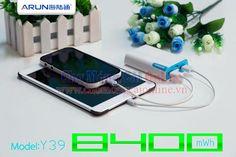 Pin sạc dự phòng đa năng Arun Y39 Giá rẻ nhất thị trường