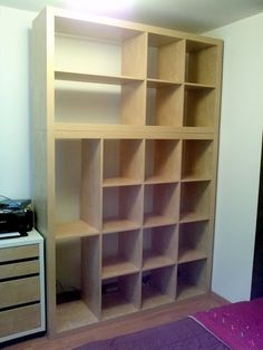 Old Expedit to Dressing/Storage - IKEA Hackers