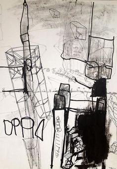 Apollo 4 by Thomas Dausell #kunst #kunstner #maleri #tegning - Beauton Art Gallery - http://beautonart.com | http://beautonart.dk