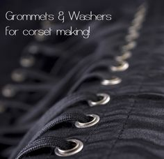 Corsetmaking.com: lots of cool stuff here, including good quality hardware and lacing (unfortunately they have horrible shipping prices for small orders)
