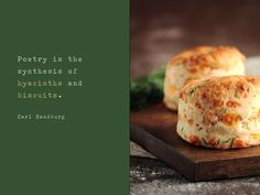 Cheddar Dill Biscuits - via the pastryaffair.com