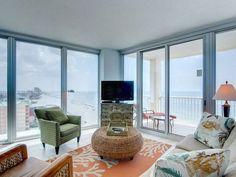 Gulf Shores 3 br Ocean Front Vacation Rental Condo: Island Towers #1301