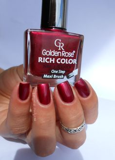 Golden Rose 22, Rich Color http://melynenailart.wordpress.com/2014/05/07/golden-rose-n22-rich-color/