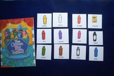 The Crayon Box That Talked (Colors) Flannel Board and Felt Set Literacy Bag