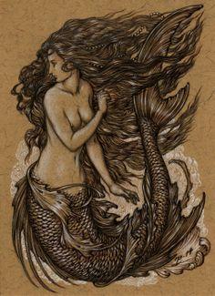 Mermaid art card | Himmapaan
