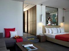Junior Suite | Master Bedroom | White Rocks Hotel & Bungalows | www.whiterocks.gr