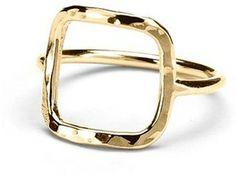 Adina Reyter Square Ring on shopstyle.com