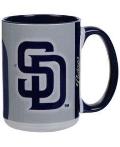 San Diego Padres 15oz Super Fan Inner Color Mug - Blue