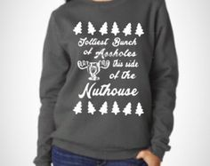 Ugly christmas sweater/ christmas vacation sweater / funny christmas sweater