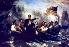Perry's Victory on Lake Erie, by William Henry Powell!