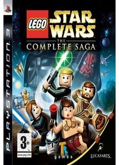 Activision Lego Star Wars: The Complete Saga on PS3 SPECIAL FEATURESOnline two-player Co-Op.1080p HD graphics.Steer vehicles with the Sixaxis controller.Commemorate the 30th anniversary of Star Wars by playing through the events of all six Star Wars mo http://www.comparestoreprices.co.uk//activision-lego-star-wars-the-complete-saga-on-ps3.asp