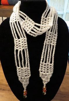 Summer Scarves from Crescent Moon Crochet on facebook.