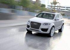 Audi Q7 - I'll take it! In any color except white, please!