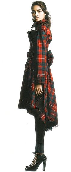 tartan obsession for Fall