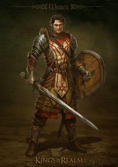 Capitaine Merek Mac Iseanor, des Sans Répit.