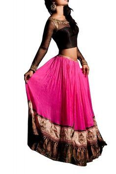 Sapana Amin Fuchsia Lehenga - Clothing