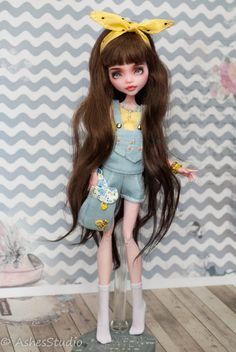 Ashes Studio Monster High Doll Clothes, Custom Monster High Dolls, Monster Dolls, Monster High Repaint, Custom Dolls, Bratz Doll, Ooak Dolls, Art Dolls, Pretty Dolls