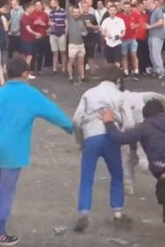 Sie verspotten bedürftige Kinder: So widerlich verhalten sich die EM-Krawallmacher in Frankreich