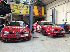 Alfa Romeo 156 garage