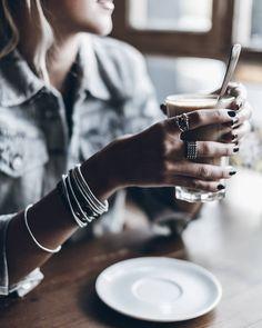 "Jacqueline Mikuta on Instagram: ""Latte  Yum! #lattemacchiato @klemenswhite"""
