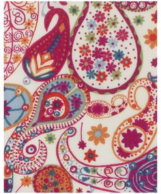 Liberty of London paisley fabric ~Mark D Tana Lawn Collection