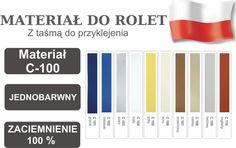 MATERIAŁ C100 DO ROLET mix kolorów 8zł=10cm GR 4 (4863131579) - Allegro.pl - Więcej niż aukcje.