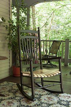 Appalachian Fanback Rocker   Hearthside Furniture