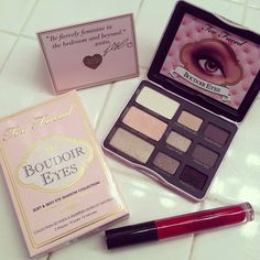 Too faced :)