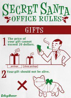 Secret Santa Rules Google Search Christmas Pinterest