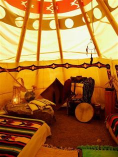 Proto Tipi, Model of our First Built Home - Joy Luck Living