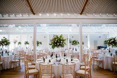Foliage and soft pink in the Lady Elizabeth Wing, Holkham Hall.  Soft pink wedding, table centre foliage, Wedding, Norfolk Wedding, Bride