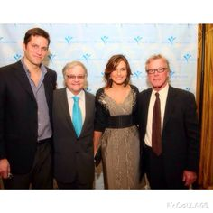 Mariska,Peter and Neal! #MariskaHargitay #PeterHermann #NealBaer #TBT
