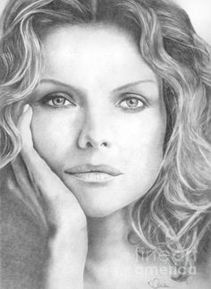Michelle Pfeiffer Drawing