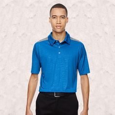 Ash City-North End Sport Red-Reflex Mens Utk Cool-Logiktm Performance Embossed Print Polo-88691